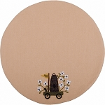 Honey Bee Candle Mat Nutmeg
