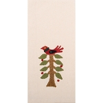 Nesting Tree Towel Cream