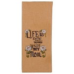 Life Is Better Because You're My Mom Towel