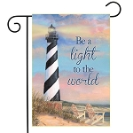 Coastal Lighthouse Garden Flag