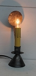 Henniker Electric Window Candle Lamp Light Handmade Tin