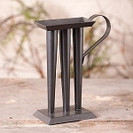 3-Tube Decorative Candle Mold in Smokey Black