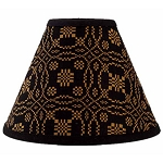 Lover's Knot Jacquard Lampshade 10