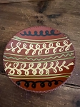 Redware Plate 6.75