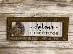 Billy Jacobs Autumn Blessings Tobacco Lath Framed Artwork 19