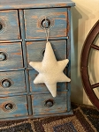 Handmade Wool Star Ornament 4