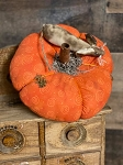 Handmade Orange Pumpkin with Mouse 5