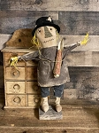 Handmade Scarecrow on Stand 20