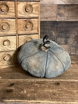 Handmade Blue Black Pumpkin 6