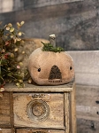 Handmade Jack O Lantern Orange Pumpkin 4.5