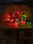 Red & Green Holiday Christmas Lights 35 Count Electric Strand