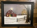 Black Framed Billy Jacobs A Light in the Stable 21.75