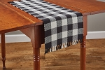Wicklow Buffalo Check Table Runner - 36