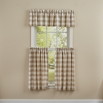 Wicklow Check Valance - 14