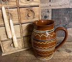 Redware Pitcher 6.5