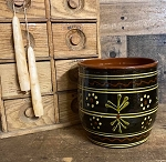 Redware Spoon Crock 6