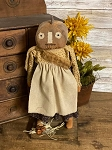 Handmade Pumpkin Girl Doll 14