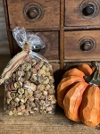 Natural Primitive Pumpkin Putka Pods Dried Potpourri Bowl Fillers 3 Cups