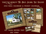 Billy Jacobs 2021 Pocket Calendar