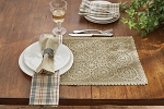 Lace Placemat - Oatmeal