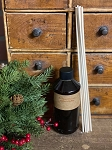 Reed Diffuser REFILL with 7 Wood Reeds & Oil by HomeSpun & Spice