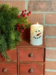 Snowman Timer Candle 2
