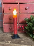 Handmade Timer Battery Operated Taper Candle 6