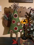 Handmade Penny Wool Tree on Stand 25