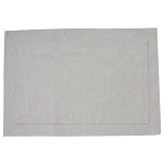 Tailored Placemat - Sterling Gray
