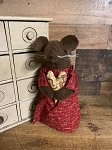 Handmade Valentines Day Mouse with Heart 11