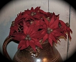 Handmade Poinsettias Small