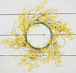 6.5in Forsythia and Pips Candle Ring