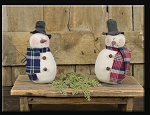 Small Country Snowmen Honey & Me