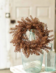 Bursting Astilbe Candle Ring | Brown| 12