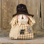 Small Salvage Sam Half Body Scarecrow  5-1/2