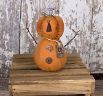 Salvage Oz Jack-O-Lantern  3-1/2