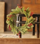 White Spruce with Berries Candle Ring | 11