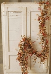Bog Pimpernel Garland | Red Fall Colors| 6'