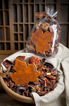 Spiced Pumpkin Fall Botanical Potpourri Blend