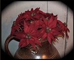 Handmade Pointsettia by Bearing in Love