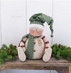 Monte the Whimsical Snowman