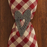 Punched Heart Napkin Ring