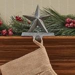 Star Stocking Hanger - Galvanized