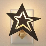 Galvanized Star Night Light