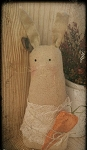 Handmade Bunny Rabbit with Carrot 13