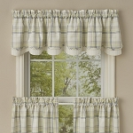 Dew Drop Lined Layered Valance