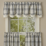 Simplicity Lined Layered Valance