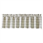Mercantile Windowpane Valance