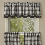 Crossroads Lined Layered Valance