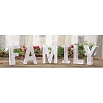 Farmhouse Rustic Letters - FAMILY
